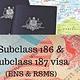 Subclass 186 & Subclass 187 visa