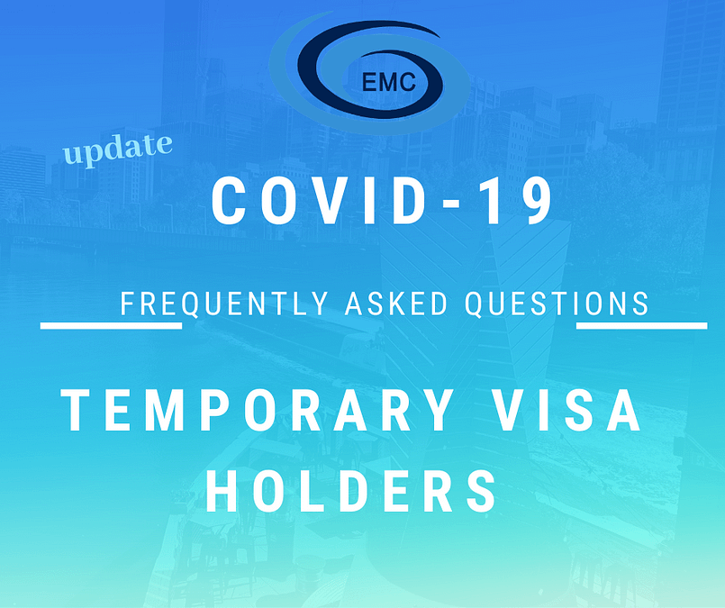 cover-19-Temporary Visa holder