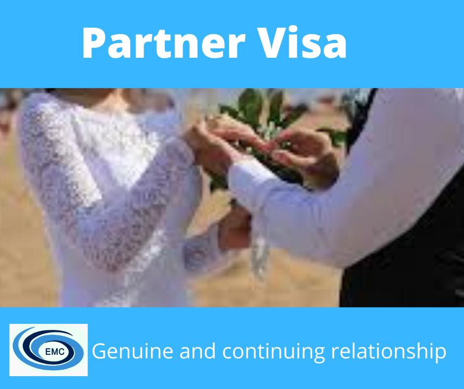 Parter visa genuine relationship